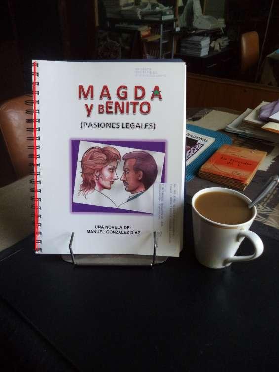 """Novela """"magda y benito: pasiones legales"""""""